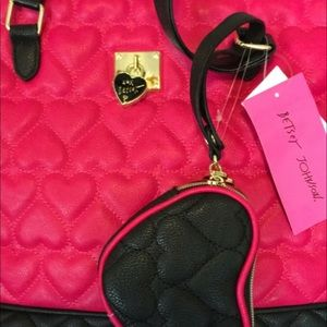Betsey Johnson Bags - NEW Betsey Johnson Purses & Lunch Tote